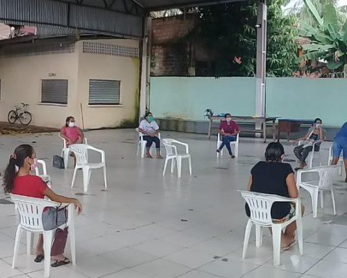 Entrega de máscaras à Secretaria de Saúde de Santarém (04/05)
