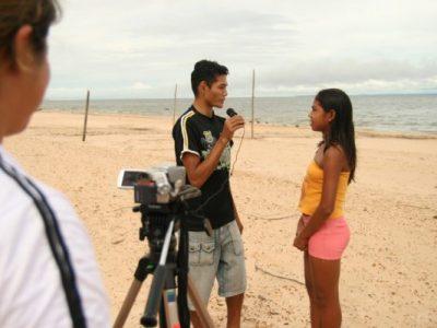 Rede Mocoronga: jovens repórteres formados para produção/difusão de mídias diversas
