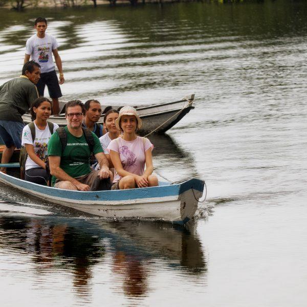 Turismo de Base Comunitária.Santarém-PA. Comunidade Atodí.TravessiaFoto :Sergio Amaral
