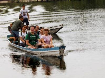 Turismo de Base Comunitária. Santarém-PA. Comunidade Atodí.Travessia Foto :Sergio Amaral