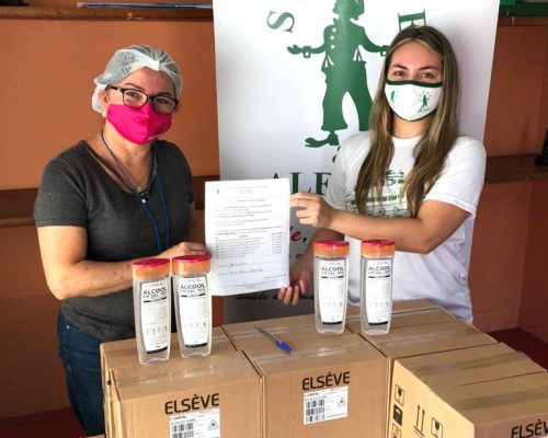 Unidades Básicas de Saúde urbanas, ribeirinhas e do planalto recebem 1.660 frascos de álcool gel