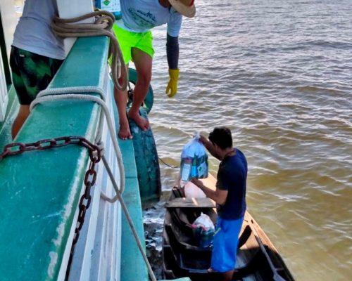 Expedição nas comunidades do Tapajós dias 06 e 07/06